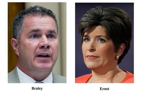 Bruce Braley v Joni Ernst on Your Gun Rights!