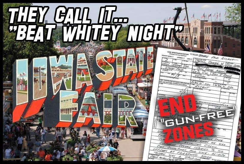 "Will the Iowa State Fair be the next ""gun-free zone"" mass-murder target?"