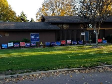 An IGO member's house in Marshalltown that we came across yesterday. Gun owners are fired up and looking to hold gun grabbers like Steve Sodders accountable on Tuesday!