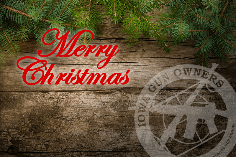 Merry Christmas from Iowa Gun Owners!