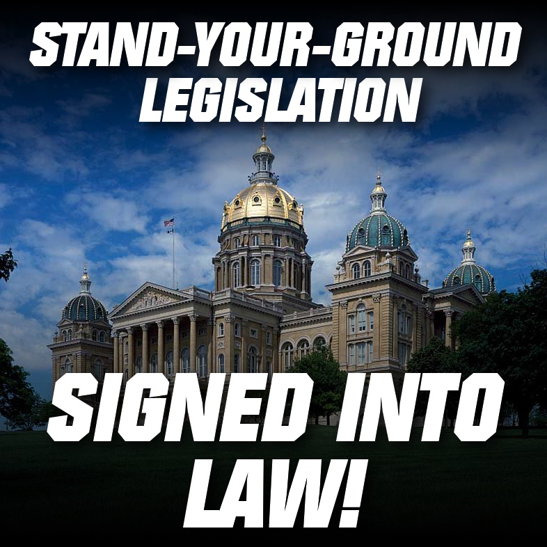 Stand-Your-Ground Legislation Signed Into Law!