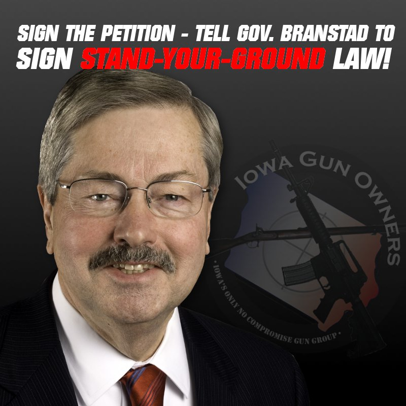 Call Governor Branstad Now!