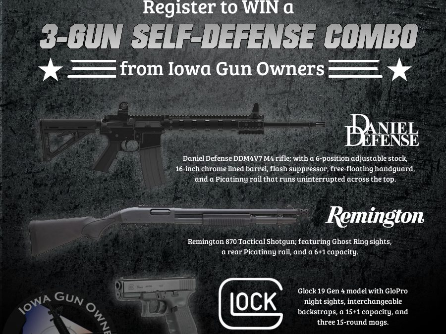 Celebrate Stand-Your-Ground With a FREE 3-Gun Combo!