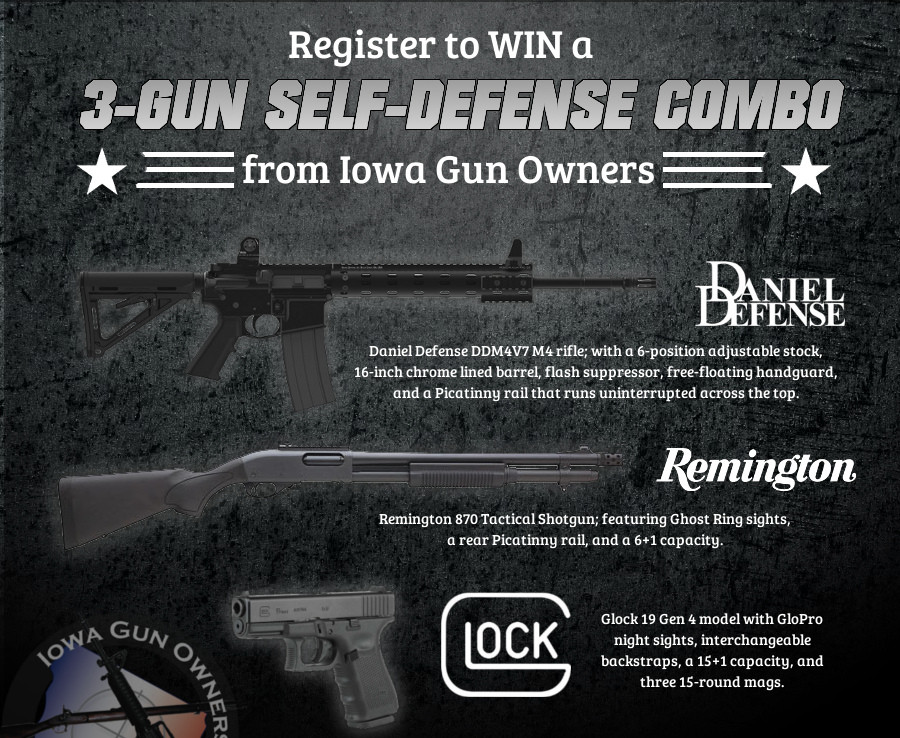 3-Gun Self-Defense Winner Is…