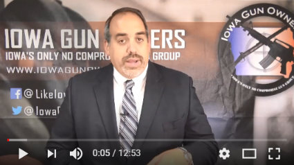 Video Update on 'Red Flag Gun Seizure' Legislation -- TAKE ACTION!