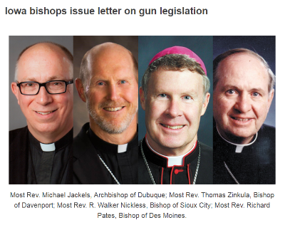 Church Leaders Demanding Red Flag Gun Control in Iowa!