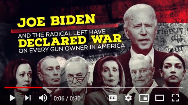 MUST WATCH: IGO's Digital Ad on Biden's Gun Control Agenda!