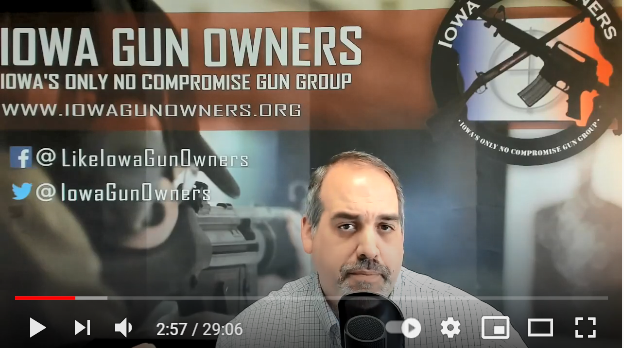 Video Update on Constitutional Carry Law!